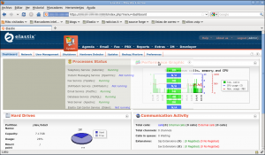 Elastix 2.0 - Dashboard 1