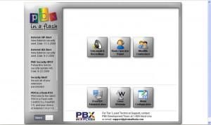 Schermata iniziale PBXInaFlash